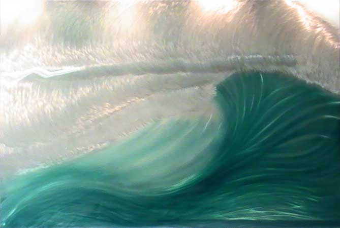 Painting by Jack Nordby: Maui Aqua